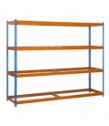 Estantería para picking KIT SIMONFORTE 1804-4 AZUL/NARANJA