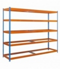 Estantería para picking KIT SIMONFORTE 1806-5 AZUL/NARANJA