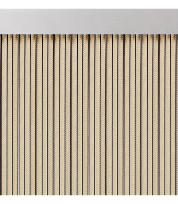 Cortina puerta 90x210cm marfil ACUDAM