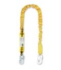 Absorbedor seguridad 1,50Mt Elástico. STEELPRO SAFETY
