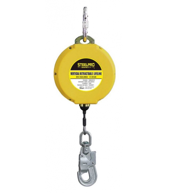Dispositivo seguridad ABS 10mts STEELPRO SAFETY