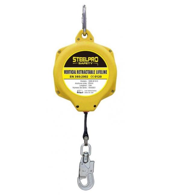 Dispositivo de seguridad anticaida 10mts STEELPRO