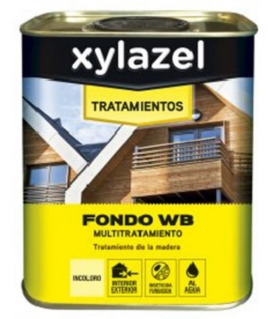 Fondo madera tratamiento especial incoloro 2,5 LT. XYLAZEL