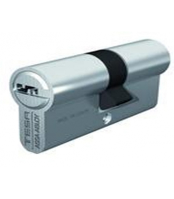 Cilindro Seguridad 32x32mm T60 Latón Corona 14D Centrado. TESA