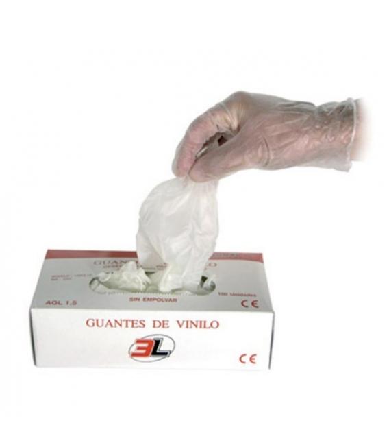GUANTE VINILO UNIVIL LP NAT S07 3000 S07