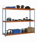 Estantería para picking KIT SIMONFORTE 1509-3 METAL AZUL/NARANJA/GALVA