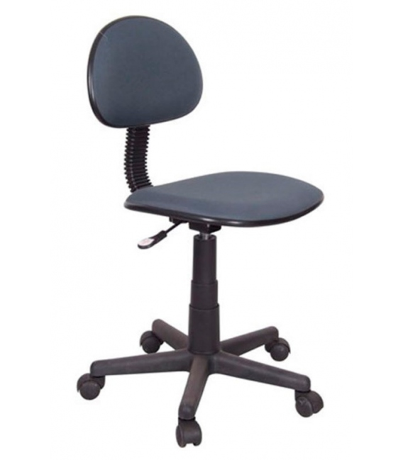 Silla escritorio regulable negra. KIT CLOSET