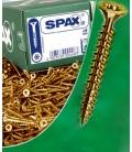 Tornillos 05x090mm 200 Piezas SPAX