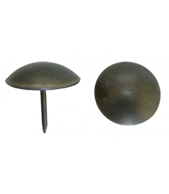 Tachuela fijación plana bronce 500pz. EL ZORRO