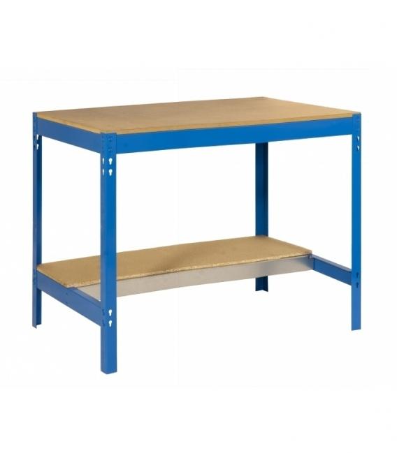 Banco de trabajo Kit Simonwork BT0 1500 Azul/Madera. SIMONRACK
