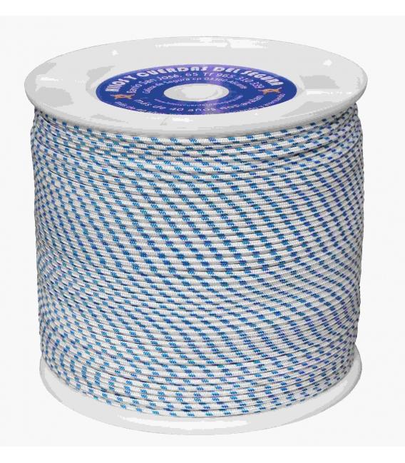 Cuerda trenzada 400mts azul HYC