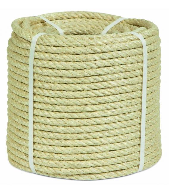 Cuerda torcida 08mm natural HYC
