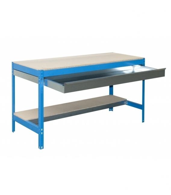 Banco de trabajo Kit Simonwork BT0 Box 1200 Azul/Madera. SIMONRACK