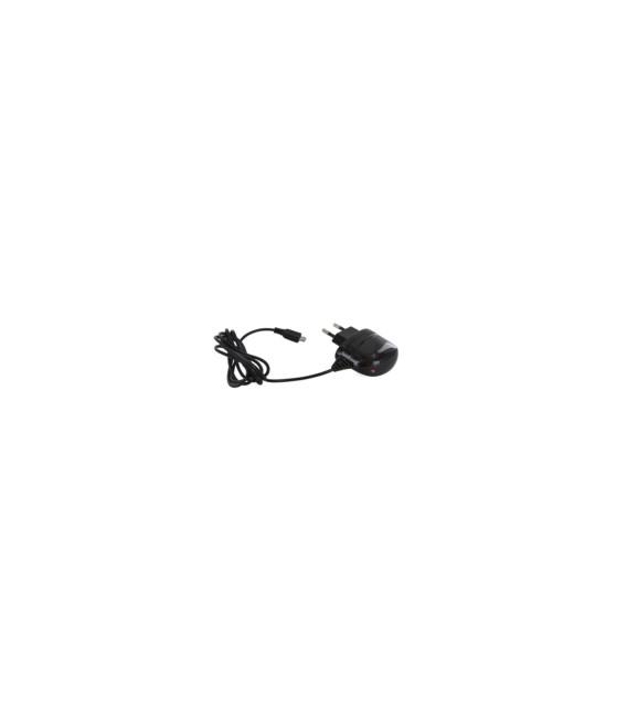 CARGADOR PARED MICRO USB 2,1A 1MT