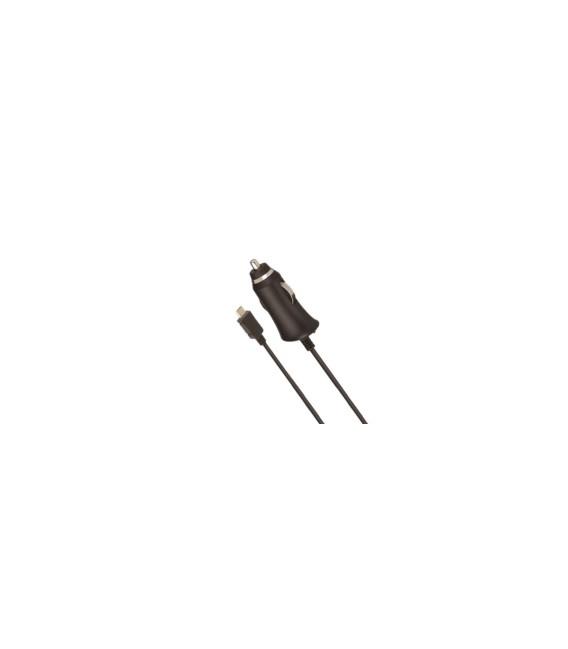 CARGADOR COCHE MICRO USB 2,1A 1MT 0