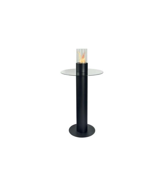 Biochimenea 1200x600mm Negro RUBY Caorle