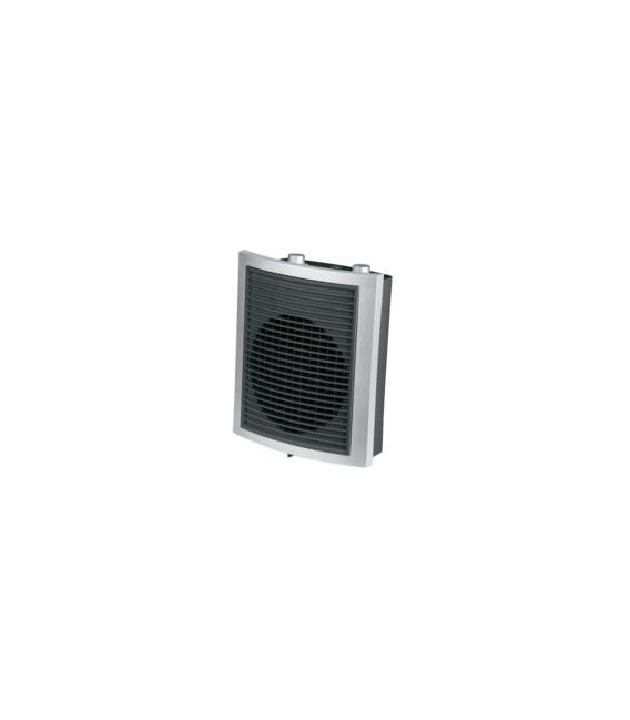 Calefactor Eléctrico 230x125x270mm  Blanco/Azul Vertical. S&P