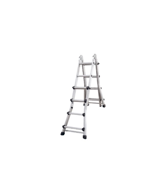 Escalera industrial tijera 10+10 NIVEL