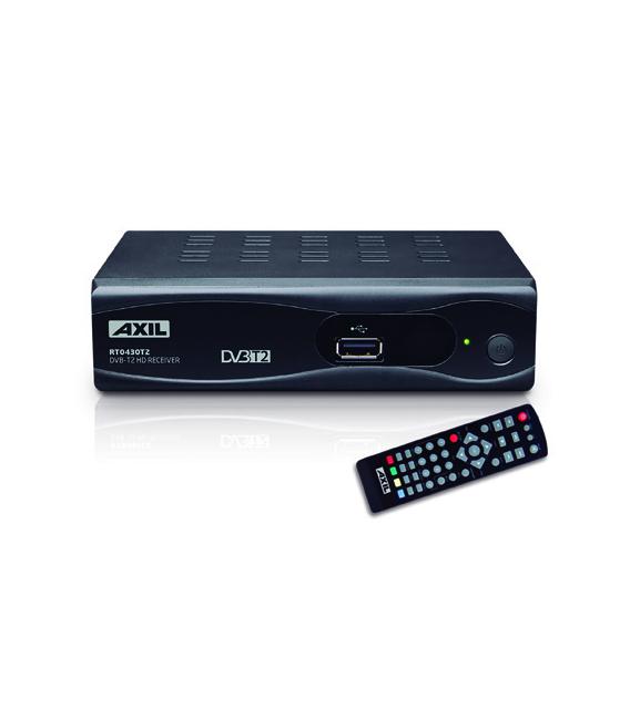 Receptor TDT T2 HDMI Euroconector. AXIL