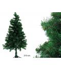 Árbol de Navidad 210 cm 650 ramas. JUINSA