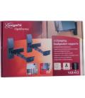 Soporte multimedia altavoz negro VLB-412 VOGEL'S