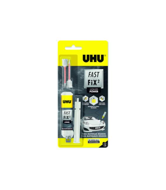 Adhesivo reparación UHU Fast Liquid POWER