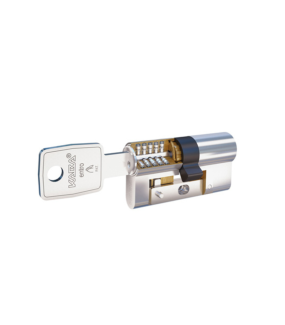 Cilindro seguridad 35x35mm níquel DORMAKABA