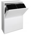 Cubo reciclaje Basic 4. ARREGUI