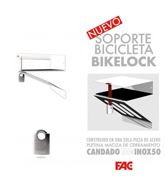 Soporte pared bicicleta antirrobo FAC