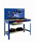 Banco de trabajo Kit Simonwork BT2 Box 900 Azul/madera. SIMONRACK