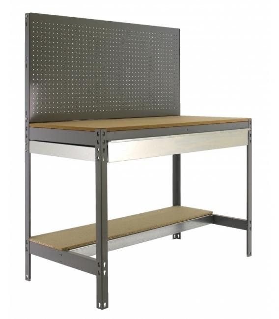 Banco de trabajo Kit Simonwork BT2 Box 1200 Gris/Madera. SIMONRACK