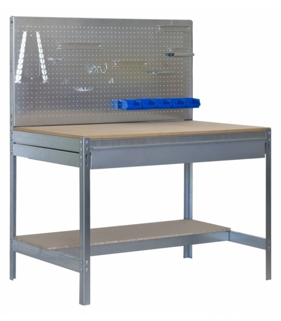 Banco de trabajo KIT SIMONWORK BT2 BOX 1200 GALVA/MADERA