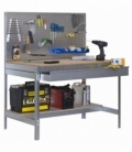 Banco de trabajo Kit Simonwork BT2 Box 1200 Galvanizada/Madera. SIMONRACK