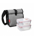 BOLSA ENROLLABLE 2 HERMETICOS CRISTAL 0,