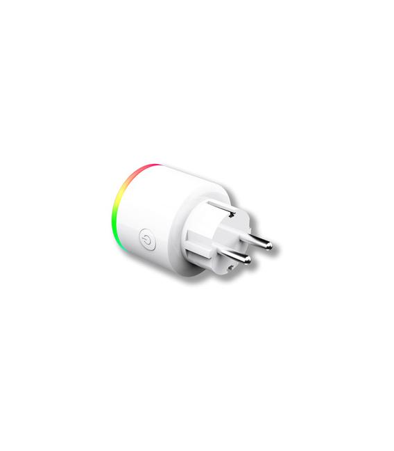 Enchufe wifi inteligente con luz multicolor. ENERGEEKS