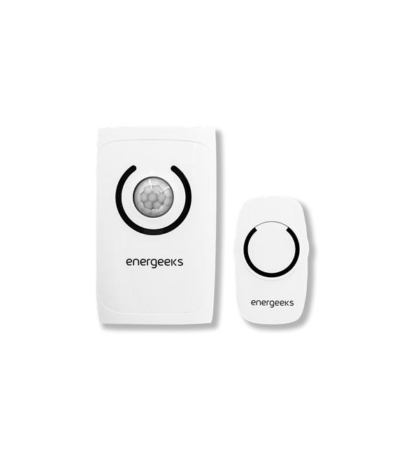 Alarma inalámbrica mini con detector de movimiento. ENERGEEKS