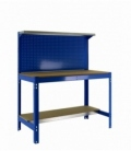 Banco de trabajo KIT SIMONWORK BT3 900 Azul/madera. SIMONRACK