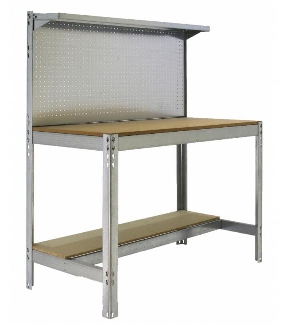 Banco de trabajo KIT SIMONWORK BT3 900 galvanizado-madera. SIMONRACK