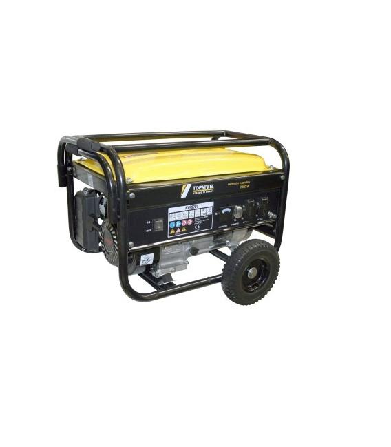 Generador gasolina 196cc 15LT NIVEL