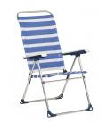 Hamaca playa azul/blanco. ALCO