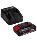 Cargador batería + Batería 2,5AH EINHELL