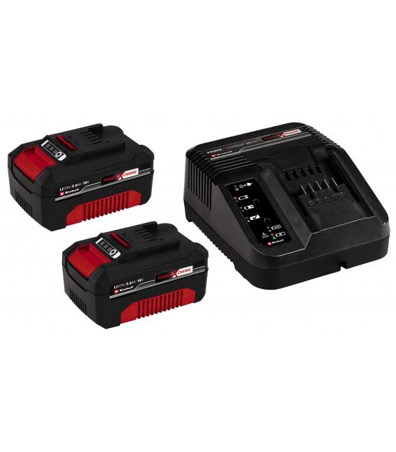 Cargador de batería +2 batería. 3,0AH 18V. EINHELL