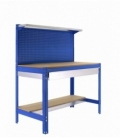 Banco de trabajo KIT SIMONWORK BT3 BOX 1200 AZUL/MADERA