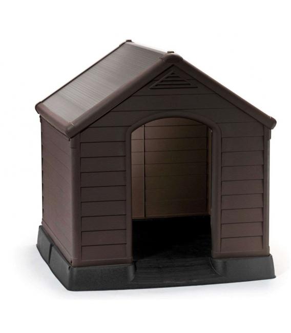 Caseta perro exterior 99X99X95CM KETER