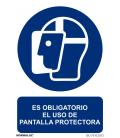 CARTEL 210X300MM - 0,7MM USO DE PANTALLA