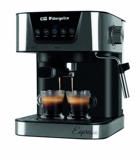Cafetera express 1,5LT 1 UD. ORBEGOZO