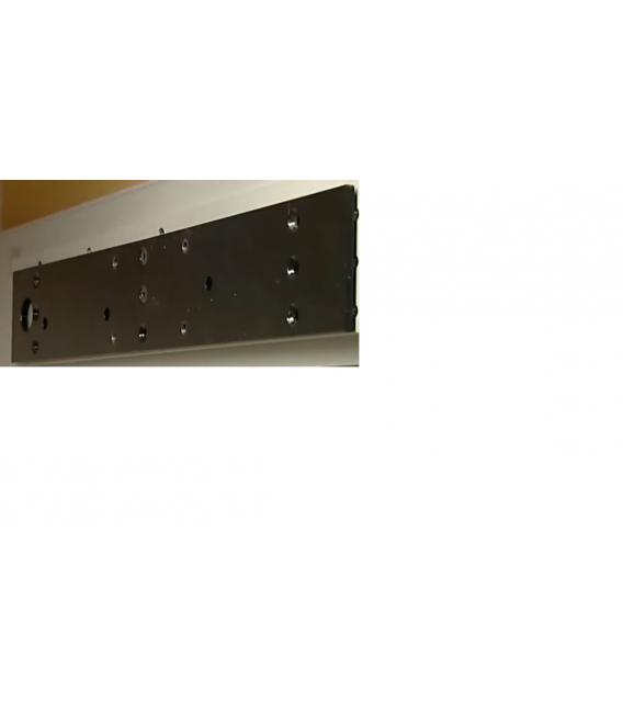 Placa montaje negra OBERMATIC 505