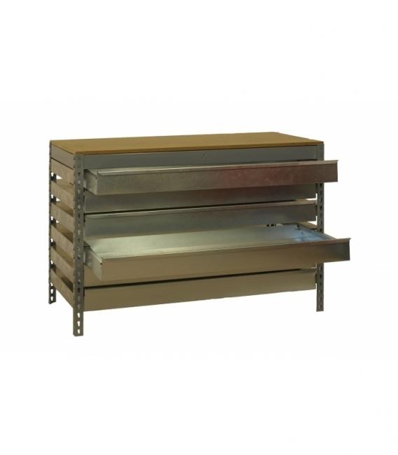 Banco de trabajo KIT SIMONWORK BT5 BOX6 900 GRIS/MADERA