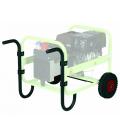 Manillas con ruedas para generador PRAMAC