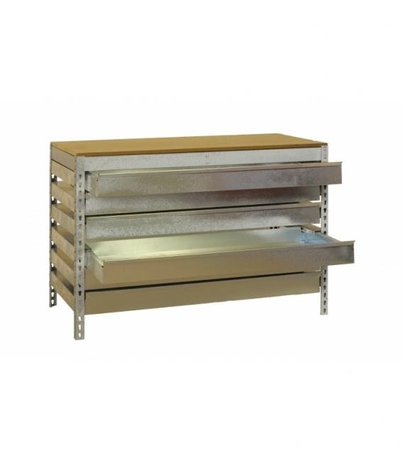 Banco de trabajo KIT SIMONWORK BT5 BOX6 1200 GALVA/MADERA